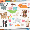 Love Cats Clipart