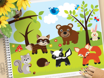 Sherwood Forest Animals