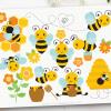Buzzy Bees Clipart