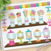 Candy Shoppe Vector Clipart