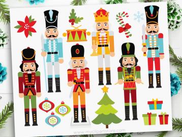 Christmas Nutcrackers Clipart