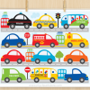 City Vehicles Clipart