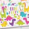 Dinosaur fun girls clipart