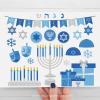 Hanukkah Silver Clipart