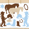 Little Cowboy Clipart