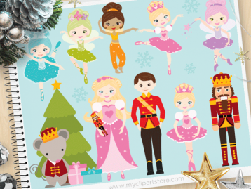 Christmas Nutcracker Suite Clipart