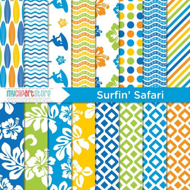 Paper Surfing Safari