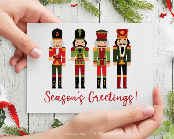 Royal Nutcrackers Clipart