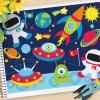 Space Adventures Vector Clipart