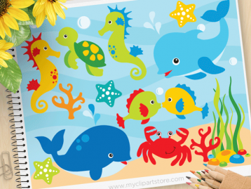 Under The Sea Clipart