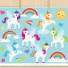 Little Unicorns Clipart