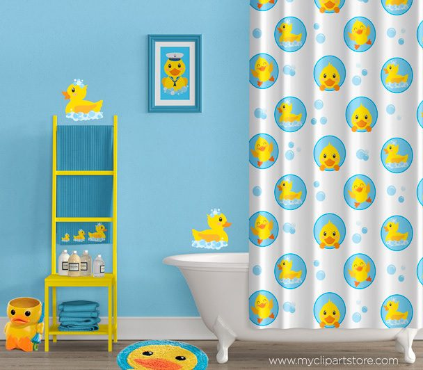 Bath Time Ducky