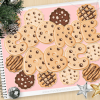 Cookie Alphabet Clipart