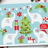 Christmas White Elephant Clipart
