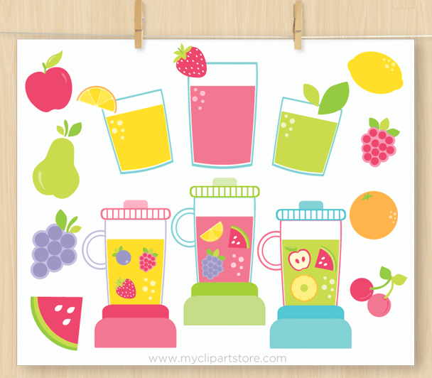 Juicy Fruit Clipart