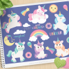 Magical Unicorns Clipart