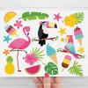 Tropical Summer Clipart