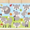 Grey Fox Clipart