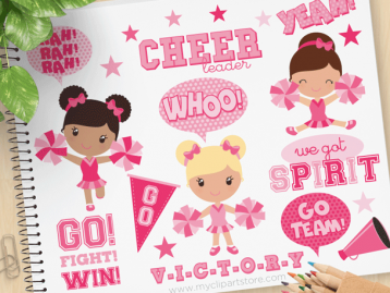 Pink Cheerleaders