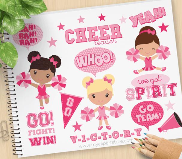 Pink Cheerleaders