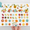 Fall Flowers Clipart