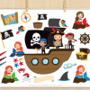 Pirates Vector Clipart
