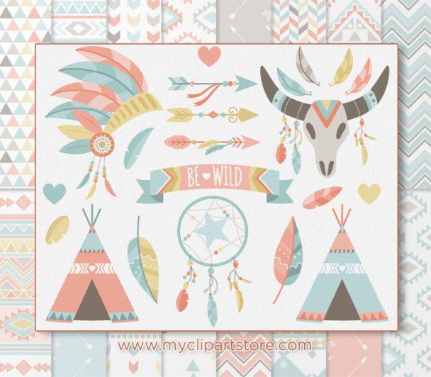 Tribal Boho Elements