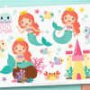 Mermaid Princess Clipart