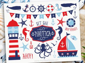 Nautical Boy Clipart
