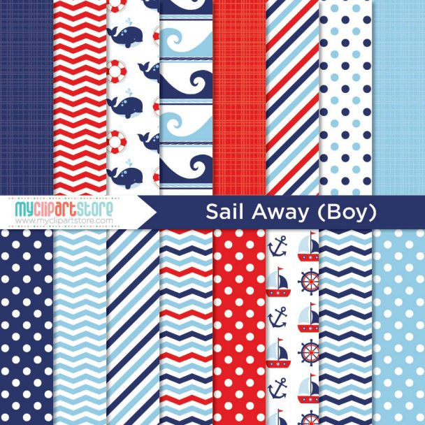 Paper Sail Away Boy Paper