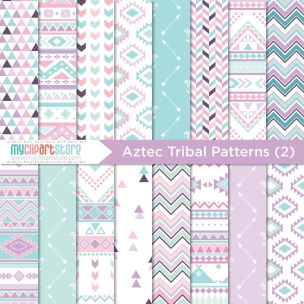 Tribal 2 Paper Aztec