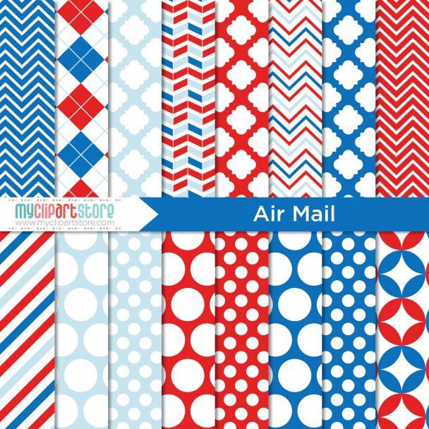 Postal Air Mail Paper