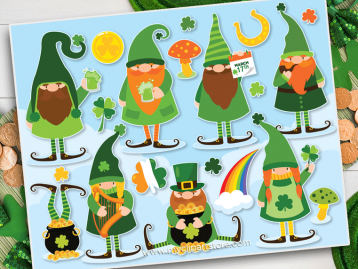 St Patricks Gnomes