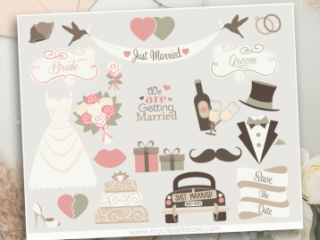 Wedding Bells Clipart
