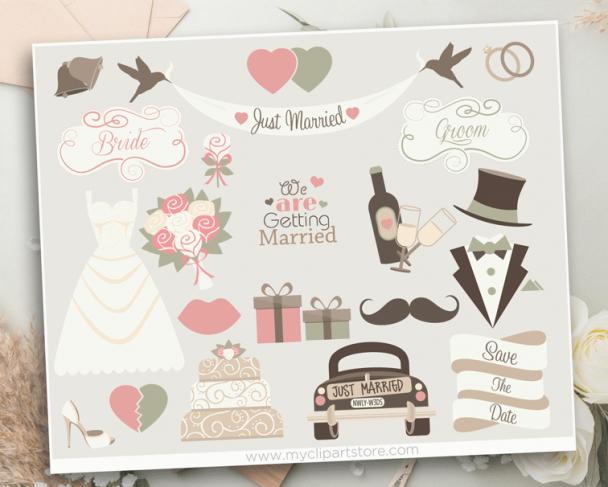 Wedding Bells Clipart