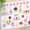 Cupcake Shoppe Vector Clipart