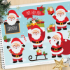 Santa Clause Vector Clipart