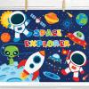 Space Explorers Clipart