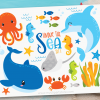 Under The Sea Vector Clipart