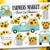 Sunflower Truck