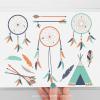 Tribal Boy Dreamcatchers Clipart