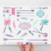Tribal Girl Arrows Clipart